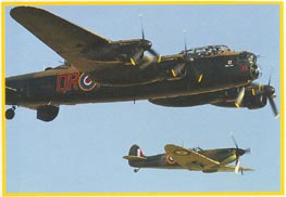 One of the most famous and most successful of the WWII night RAF bombers.